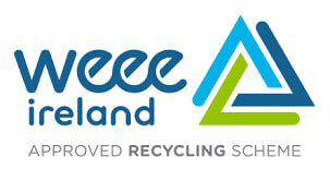 Image of Weee Ireland approved recycling scheme logo